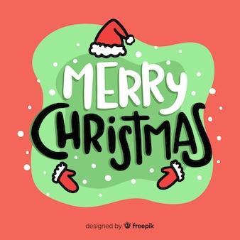 Schönes weihnachtsbriefgestaltung