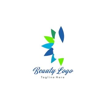 Schönheit logo vorlage. salon-logo tempate. spa logo vorlage