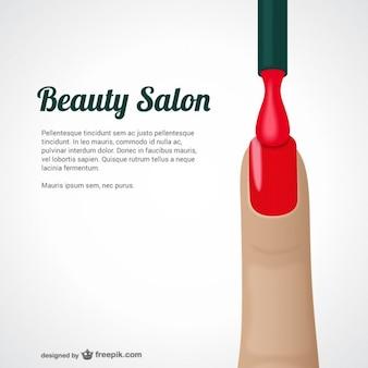 Schönheitssalon-vorlage