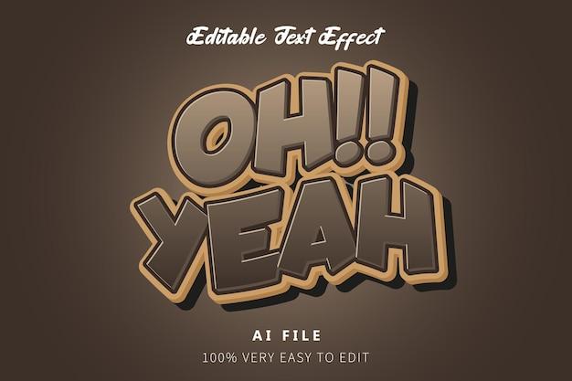 Schokoladen-cartoon-text-stil-effekt