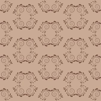 Schokoladen-dekorativer strudel-hintergrund mit dunklem sand