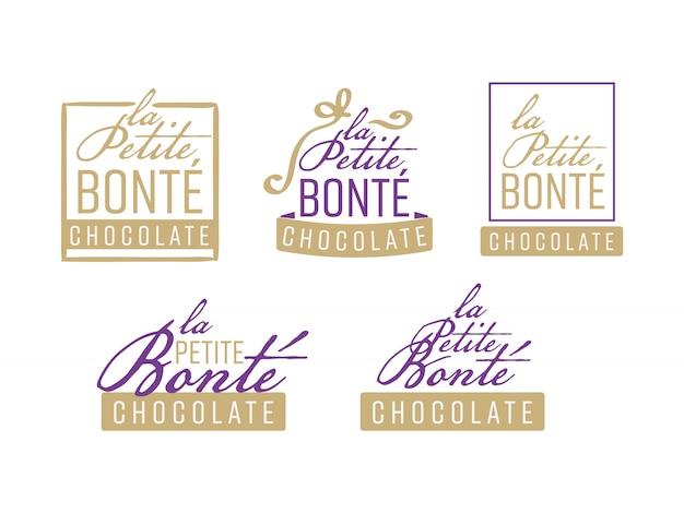 Schokoladen-logo-design