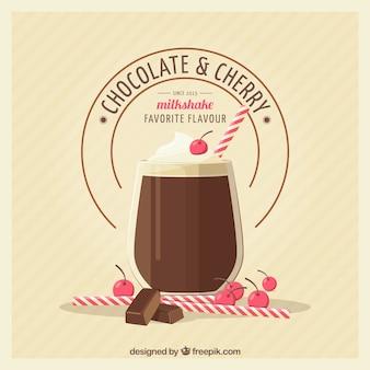 Schokoladen-milchshake