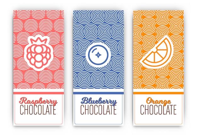 Schokoladen-verpackungsdesign
