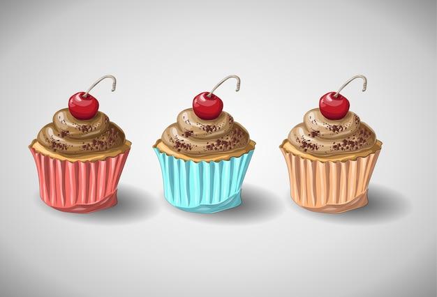 Schokoladenkuchen-set