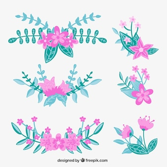 Schöne Blumen Korsagen