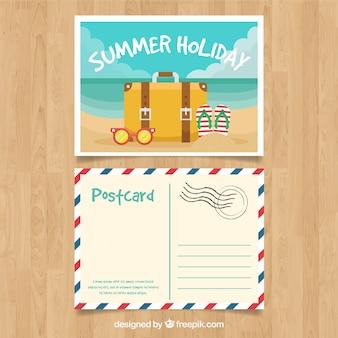 Schöne Sommerpostkarte