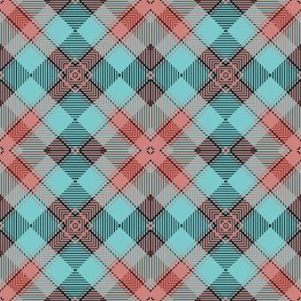 Schottische gewebte textur klassischer tartan nahtlose muster.