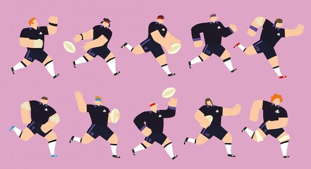 Schottland rugby team eingestellt
