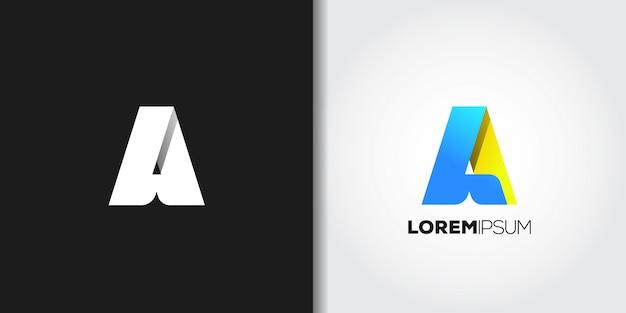 Schreiben sie ein logo-set