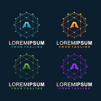 Schreiben sie eine logo-vorlage