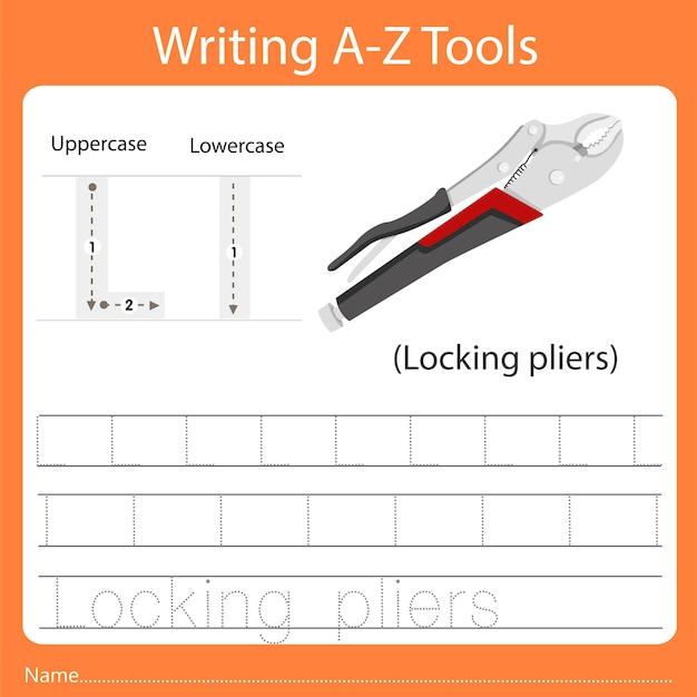 Schreiben von az-werkzeugen l.