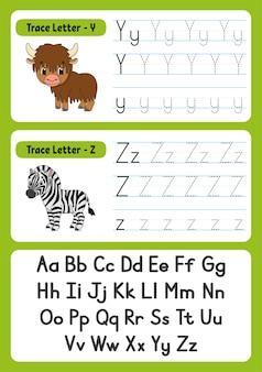 Schreiben von briefen mit tieren für kinder
