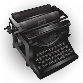 Schreibmaschine illustration