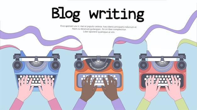 Schreibmaschinen-ikone retro style flat