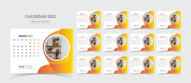 Schreibtischkalender illustration