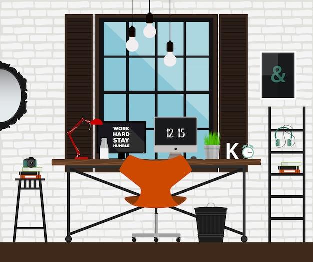 Schreibtischkonzept