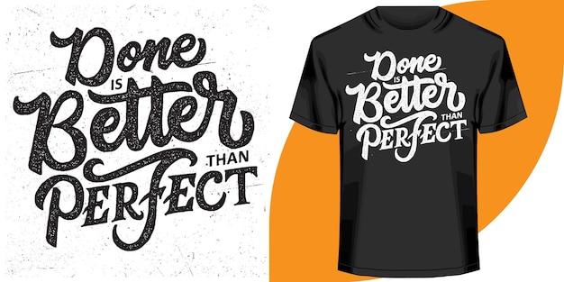 Schriftzug zitiert design für t-shirt, t-shirt design-vorlage.