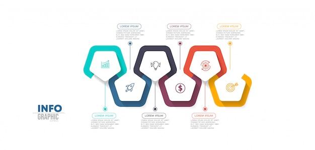 Schritte für infografik-elemente