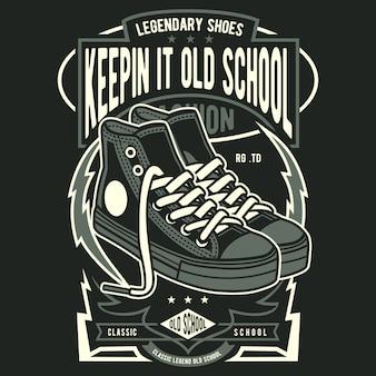 Schuh der alten schule