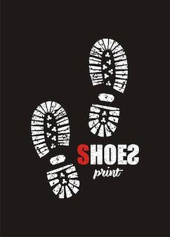 Schuhe drucken