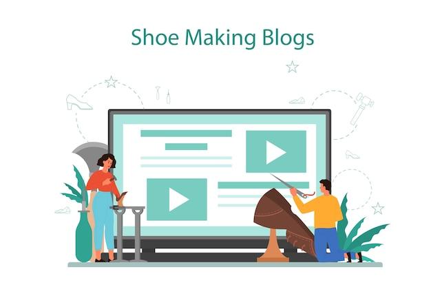 Schuhmacher online-service oder plattform
