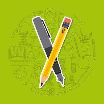 Schulbedarf design