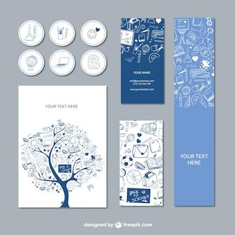 Schule design-elemente
