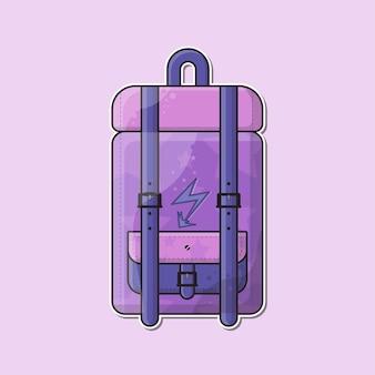 Schulranzen rucksack cartoon vektor