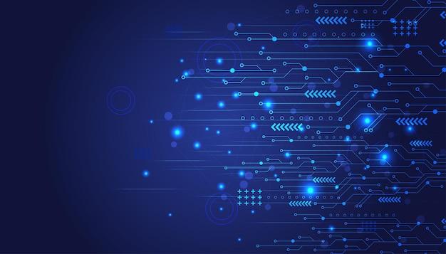 Schutz von cyber-netzwerken. hintergrund der zukunftstechnologie.