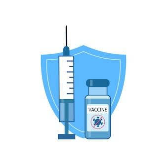 Schutzkonzept coronavirus-impfstoff