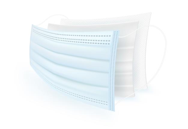 Schutzmaske für filtermaterial.