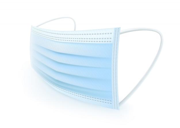 Schutzmaske mit ohrriemen mund und nase abdecken, staub, geruch und verschiedene keime verhindern.
