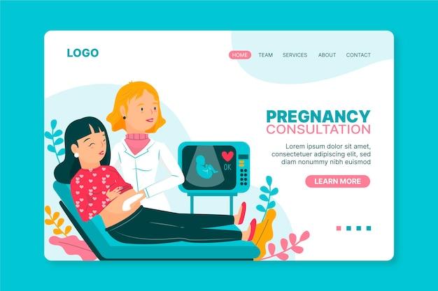 Schwangerschaftsberatung - landing page