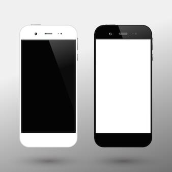 Schwarz-weiß-smartphones