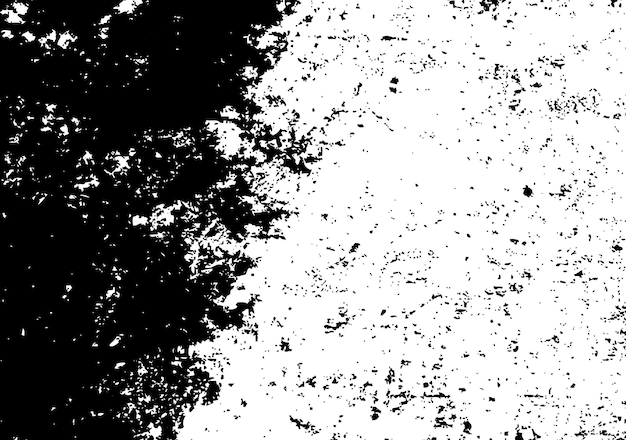 Schwarz-weißer beunruhigter hintergrund