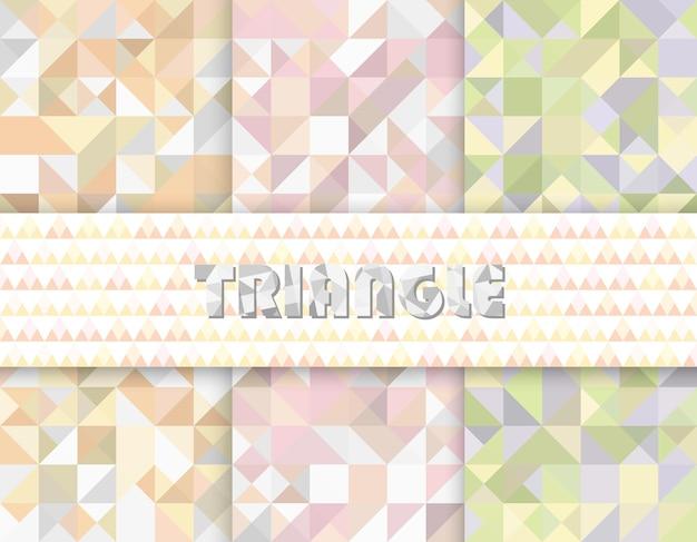 Schwarz-weißes dreieck-muster. vektor-nahtloser dreieck-hintergrund. dreieckiges geometrisches muster. abstrakte hintergrundvorlage. trendiges minimalistisches design. grafisches modernes muster. einfache vektorillustration