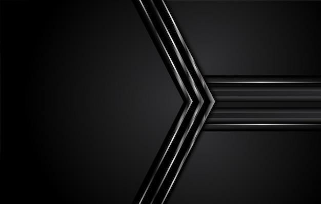 Schwarze abstrakte geschäftshintergrund-entwurfsillustration