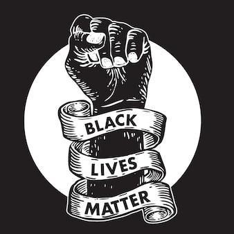 Schwarze leben sind wichtig