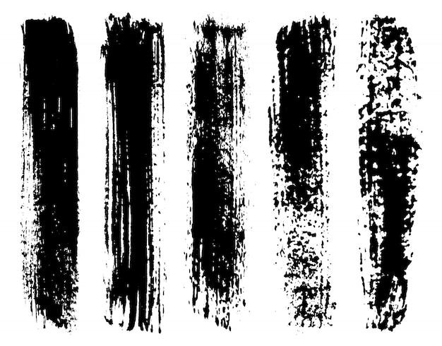 Schwarze pinsel