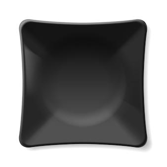 Schwarze platte