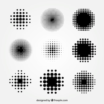 Schwarze punkte