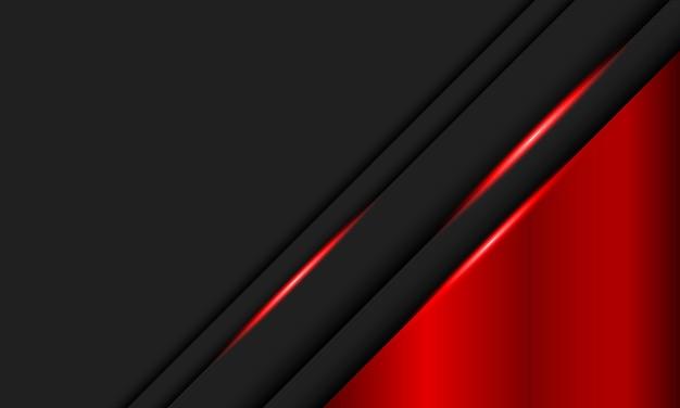 Schwarze streifen und rotmetallic mit roten lichtlinien. bestes intelligentes design für ihr unternehmen.