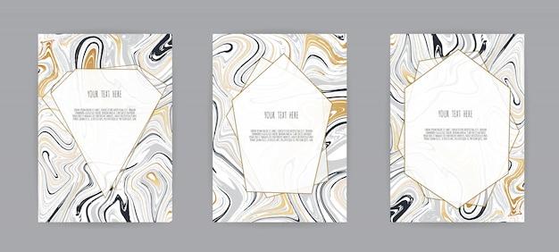 Schwarze und graue marmorbeschaffenheitskarte