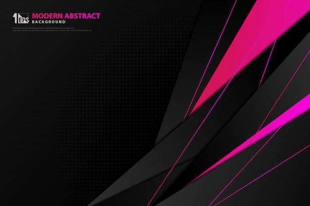 Schwarze vorlage des abstrakten technologie-gradienten