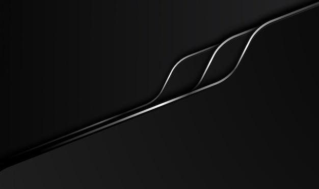 Schwarzer abstrakter geschäftlicher hintergrund. design.