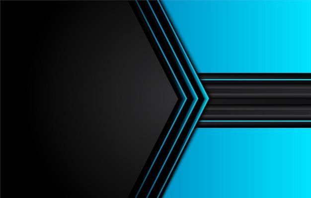 Schwarzer abstrakter geschäftlicher hintergrund. vektorentwurf.