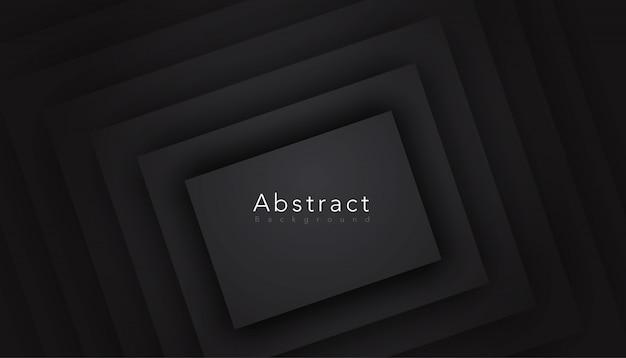 Schwarzer abstrakter hintergrund