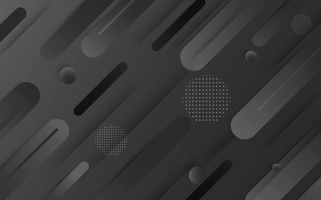 Schwarzer abstrakter hintergrundvektor. grau abstrakt. hintergrund des modernen designs