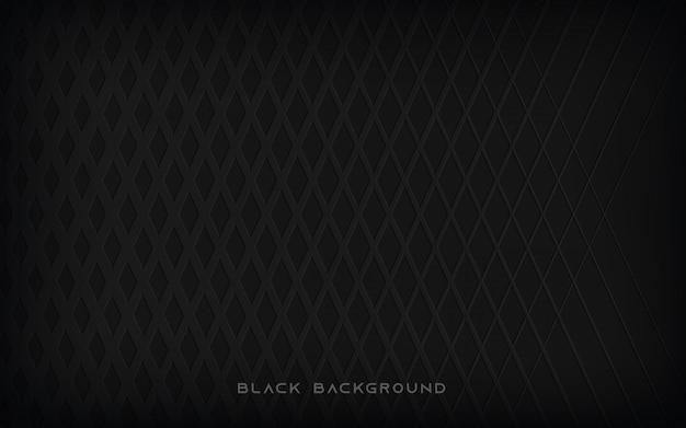 Schwarzer abstrakter musterhintergrund
